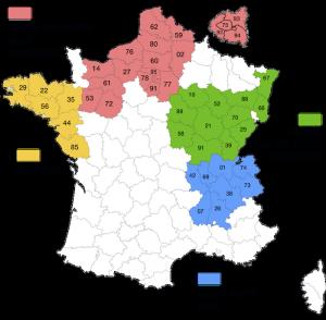Tournées livraison en France - vins AOC Bergerac du Domaine du Siorac