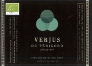verjus-périgord-Bio