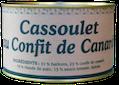 Cassoulet Confir canard