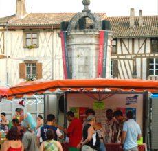 Le Domaine du Siorac à la fête de l'huitre et du vin blanc le 15 août à Eymet