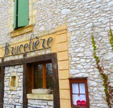 La Brucelière, partenaire gastronomique des vins de Bergerac du Domaine du Siorac.