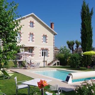 Villa Corisandre, partenaire hébergement des vins de Bergerac du Domaine du Siorac.