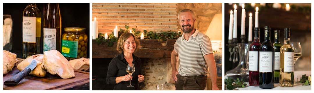 Accord mets vins avec le Domaine du Siorac et le Gros Chêne