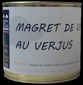 Magret de Canard au Verjus du Périgord