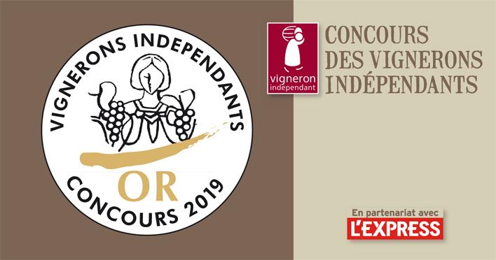 médaille Or Concours vignerons indépendants france