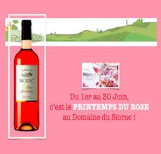 Le printemps du rosé au Domaine du Siorac