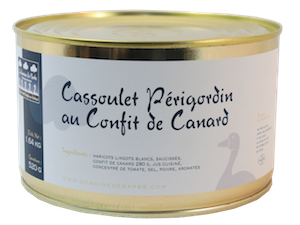 produits du terroir - cassoulet périgordin