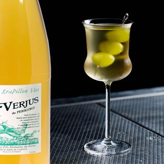 Cocktail à base de Cointreau, Bacardi et Verjus du Périgord