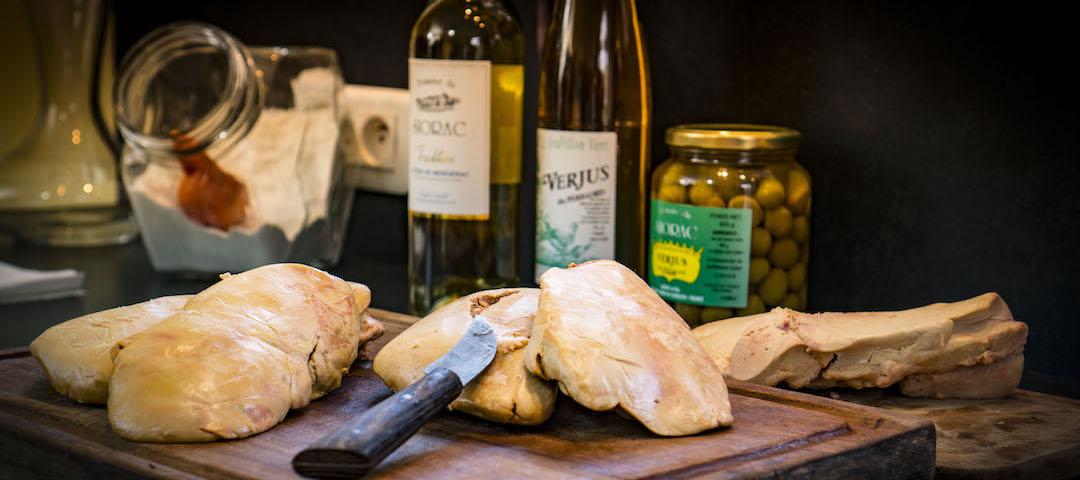 Verjus au foie gras