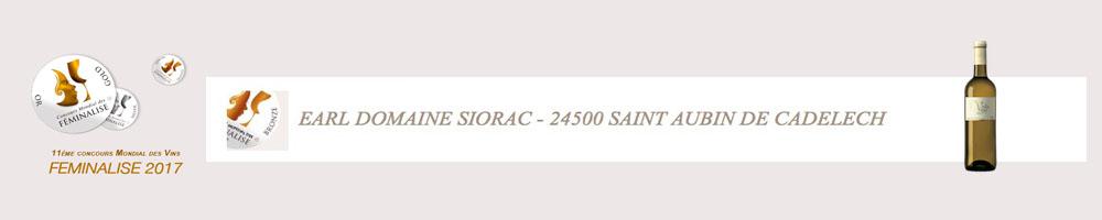 """Vin Blanc Moelleux """"Vieilles Vignes"""" - Médaille de Bronze Feminalise 2017"""